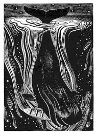 whale and broken boat Rockwell Kent