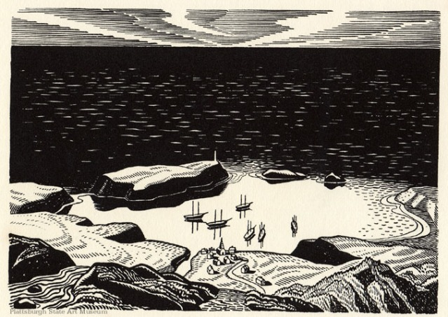 Moby Dick - Rockwell Kent 122