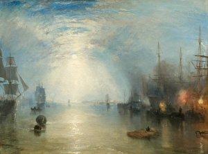 Keelmen heaving in coals by moonlight - J.M.W Turner 1835