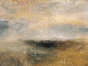 Seascape with a storm coming on 1840 J.M.W Turner